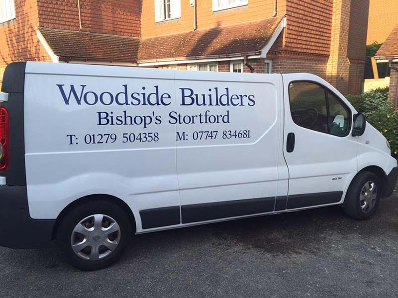 Woodside Builders big van